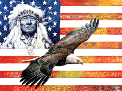 Spirit Of America - 750pc Jigsaw Puzzle by Serendipity