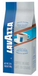 Lavazza Gran Filtro Dark Roast - 2.2 lb. Whole Bean Coffee Bag