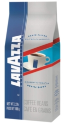 Lavazza Filtro Classico Regular - 2.2 lb. Whole Bean Coffee Bag