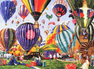 Full Of Hot Air - 1000pc Jigsaw Puzzle by Serendipity