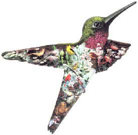 A Flicker, Then Gone - 800pc Shaped Jigsaw Puzzle by Serendipity