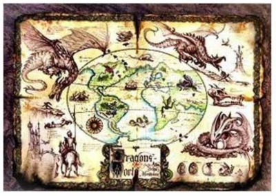 Dragons Of The World - 1000pc Jigsaw Puzzle by Serendipity