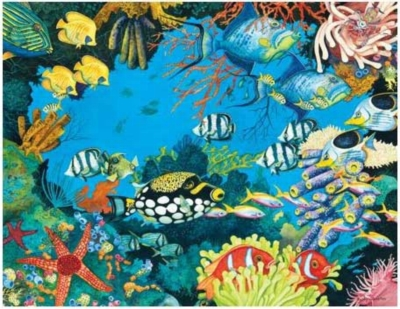 Ocean Gems - 1000pc Jigsaw Puzzle by Serendipity
