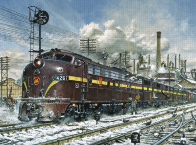 A Long Cold Road Ahead - 1000pc Jigsaw Puzzle by Serendipity