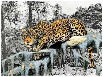 On The Prowl - 1000pc Jigsaw Puzzle by Serendipity