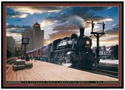The Canadian Pacific - 1000pc Jigsaw Puzzle by Serendipity