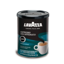 Lavazza Decaffeinato - 8 oz Ground Espresso Can