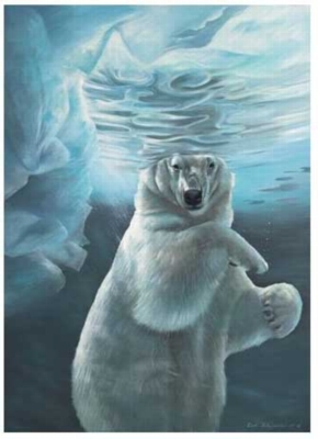 Polar Ice - 1000pc Jigsaw Puzzle by Serendipity