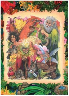 Forest Fantasy - 1000pc Jigsaw Puzzle by Serendipity