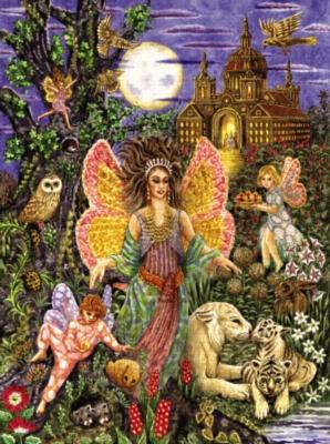 Serendipity Jigsaw Puzzles - Tree Fairies