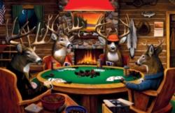 Serendipity Jigsaw Puzzles - Deer Camp