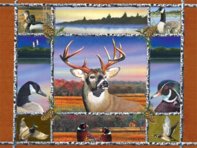 The Northwoods - 1000pc Jigsaw Puzzle by Serendipity