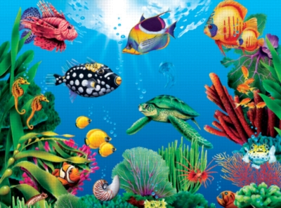 Water World - 1000pc Jigsaw Puzzle by Serendipity