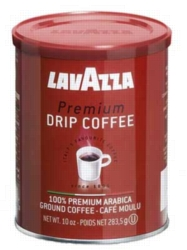 Lavazza Premium Drip - 10 oz Ground Coffee Can