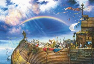 Large Jigsaw Puzzles - Noah's Ark