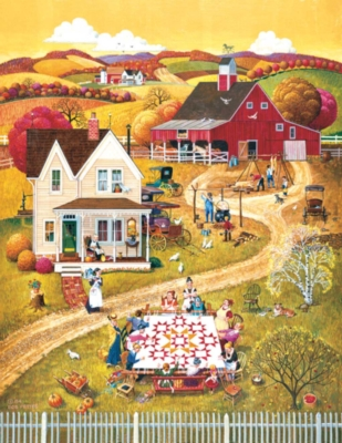 Large Format Jigsaw Puzzles - The Quilting Bee