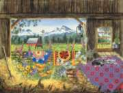 Jigsaw Puzzles - Hole In The Barn Door