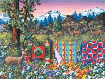 Delectible Mountains - 500pc Sunsout Jigsaw Puzzle