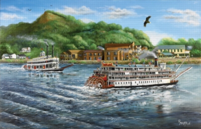 River Queen - 1000pc Jigsaw Puzzle by Sunsout