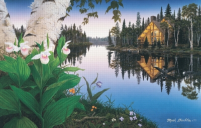 Lady Slipper Cove - 1000pc Jigsaw Puzzle by Sunsout