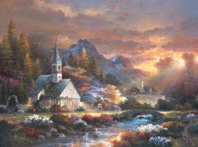 Morning of Hope - 1000pc Jigsaw Puzzle by Sunsout