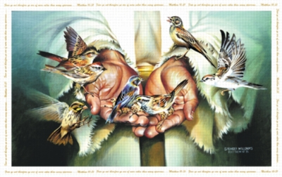 Spencer Williams: In His Hands - 1000pc Jigsaw Puzzle by Sunsout