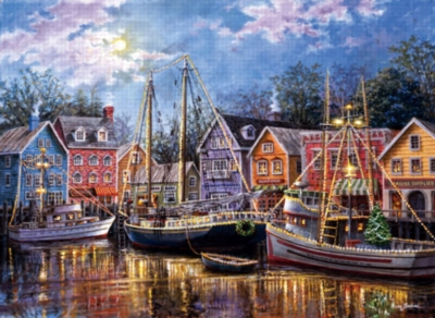 Ships A Glow - 1500pc Jigsaw Puzzle by Sunsout