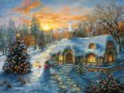 Christmas Puzzles - Christmas Cottage