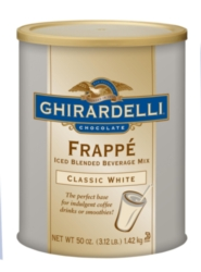 Ghirardelli Frappe Classico - 3.12 lb. Can Assorted Case