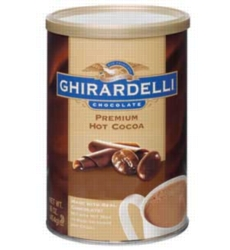 Ghirardelli Premium Hot Cocoa - 1 lb. Can Case