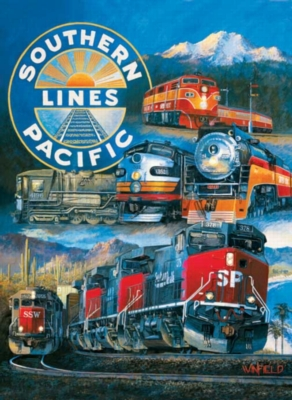 Southern Pacific - 1500pc Sunsout Jigsaw Puzzle