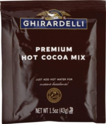 Ghirardelli Premium Indulgence Hot Cocoa Powder - Single Serve Packet Case