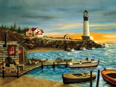 Shelter Cove - 500pc Sunsout Jigsaw Puzzle