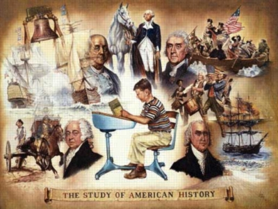 Study of American History - 300pc Large Format Jigsaw Puzzle by Sunsout