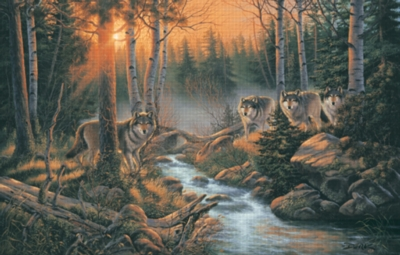 Shadow of the Forest - 1000pc Jigsaw Puzzle by Sunsout