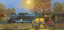 Passing Time - 1000pc Panoramic Jigsaw Puzzle by Sunsout