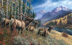 Jigsaw Puzzles - Elk Anthem