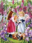 A Garden Visitor - 500pc Jigsaw Puzzle by Sunsout
