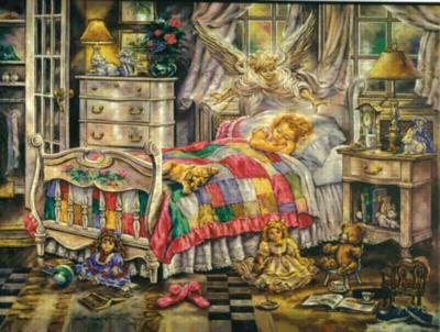 My Guardian Angel - 500pc Jigsaw Puzzle by Sunsout