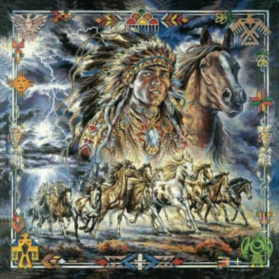 Thundering Herd - 500pc Jigsaw Puzzle by Sunsout