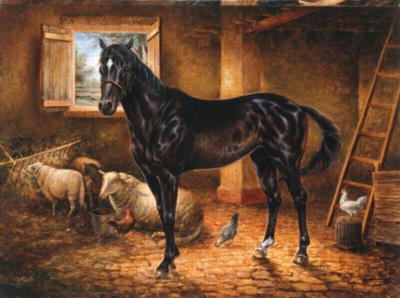 Thoroughbred - 1000pc Jigsaw Puzzle by Sunsout