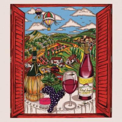 Il Buon Vino della Toscana - 1000pc Jigsaw Puzzle by Sunsout