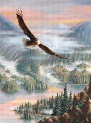 Eagle Grandeur - 1000pc Jigsaw Puzzle by Sunsout