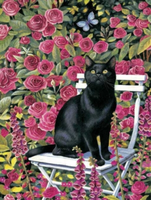 Rose Garden - 300pc Large Format Jigsaw Puzzle by Sunsout