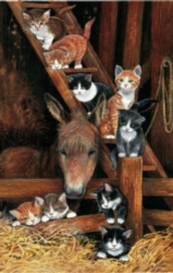 Barn Cats - 1000pc Jigsaw Puzzle by Sunsout