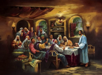 Jigsaw Puzzles - The Black Last Supper