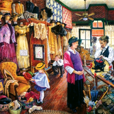 Buying Hats - 1000pc Jigsaw Puzzle by Sunsout