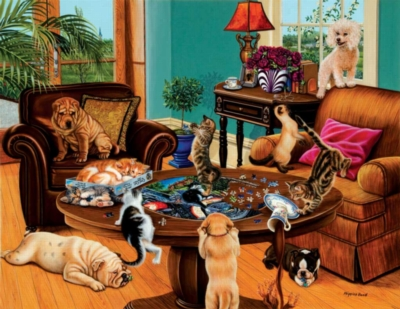 Jigsaw Puzzles - Puzzler's Helpers