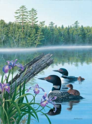 Seasons of the Lake(Summer) - 500pc Jigsaw Puzzle by Sunsout