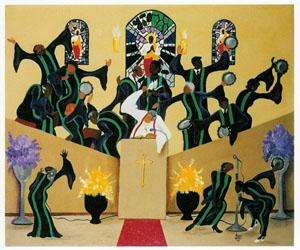 Eb-Body Say Amen - 550pc Jigsaw Puzzle by Sunsout